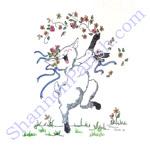 Dancing Lamb - baby shower gift