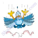 Falling bird - ever feel this way?