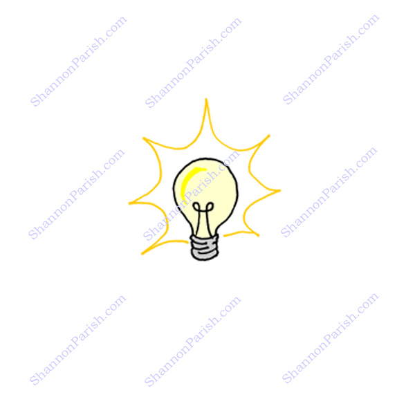 clip art light bulb idea. Light Bulb -