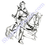 Joan of Arc - illustration