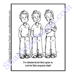 Triplet's cartoon