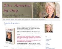 Screen shot of a website
